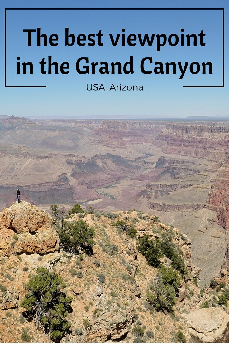 Which is the best viewpoint in the Grand Canyon? It's tough to choose, there's so many of them but go ahead and find out! :)