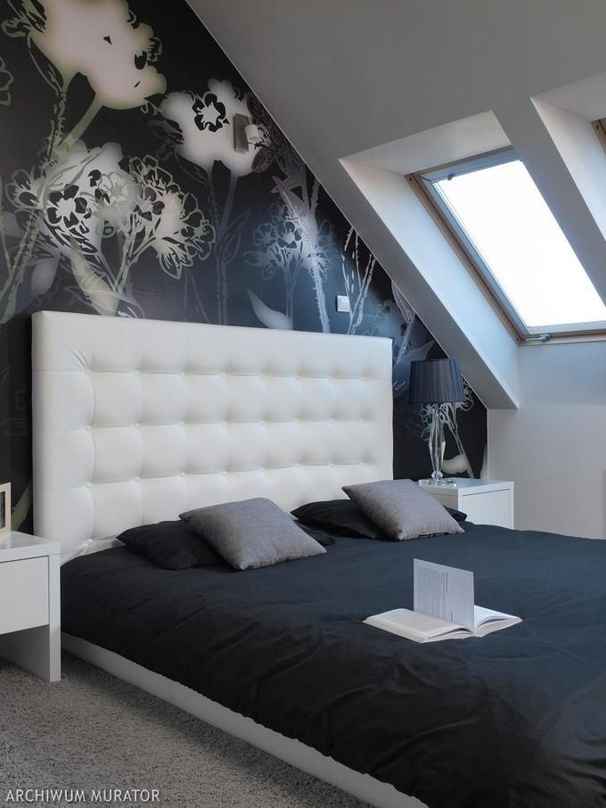 Sypialnia Na Poddaszu Szukaj W Google Design