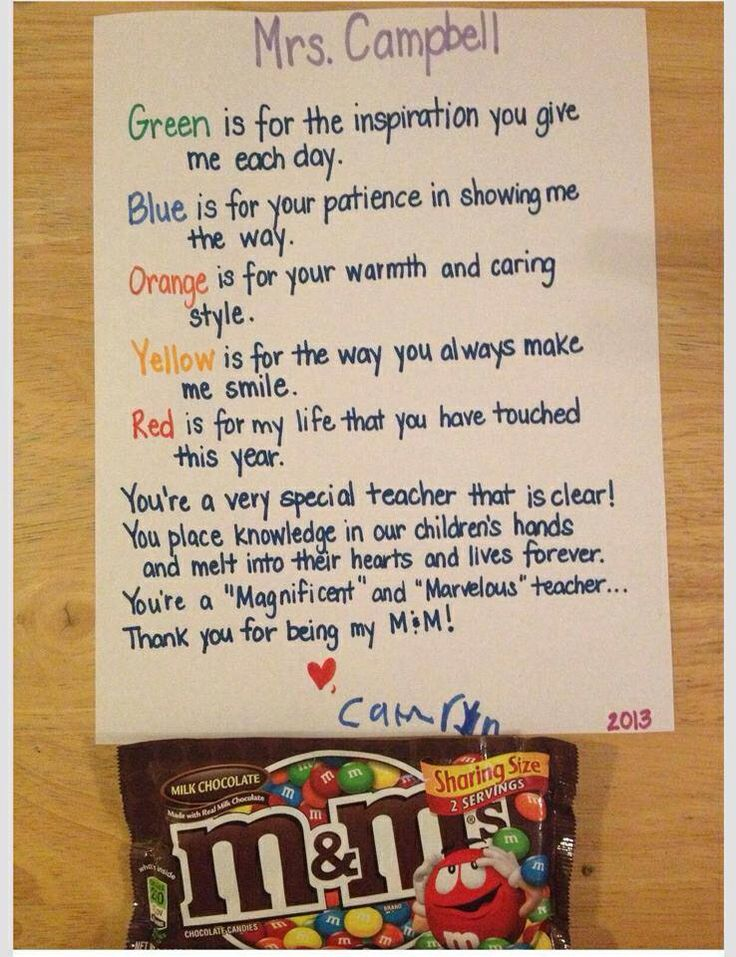 25+ best ideas about Homemade teacher gifts on Pinterest ...