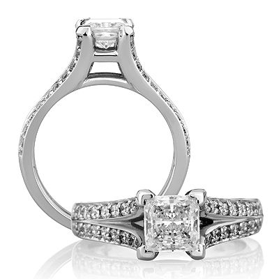 A Jaffe Clic Engagement Ring Me1260 150 For About 3 440