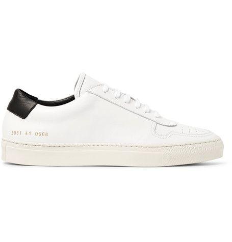 Chaussures De Sport En Cuir Cour - Projets Communs Blancs 0Xfl6MlIkC