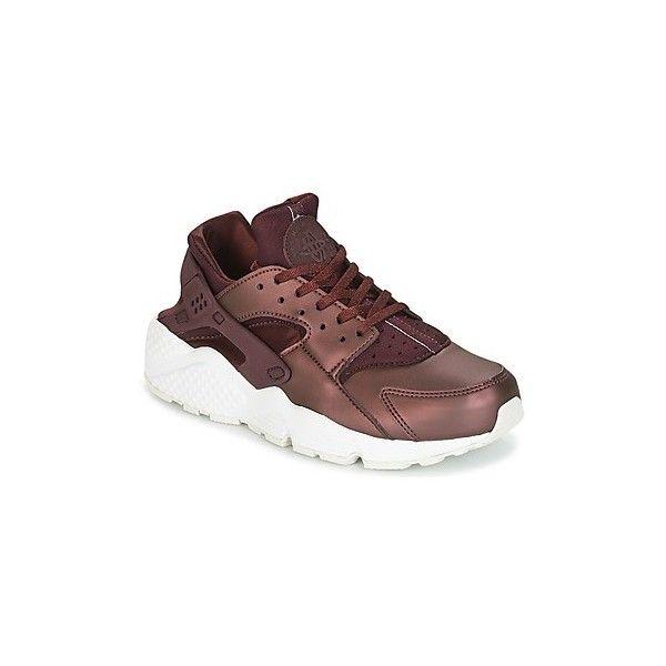 watch 77057 ded24 Nike AIR HUARACHE RUN PREMIUM TXT W Shoes (Trainers) ( 175) ❤ liked