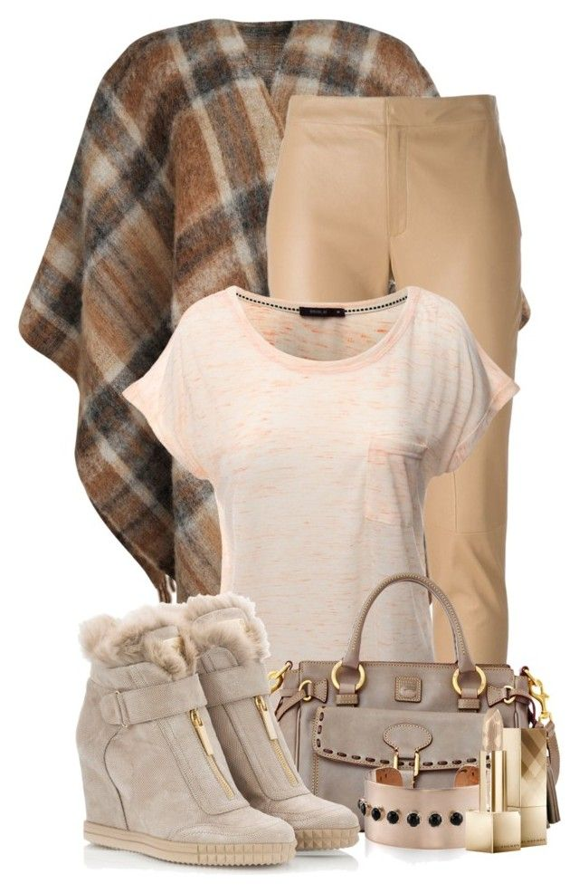 """Casual Chic"" by flowerchild805 ❤ liked on Polyvore featuring Holzweiler, Drome, Doublju, Dooney & Bourke and Burberry"