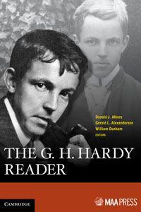 "The G. H. Hardy Reader. New book on GH Hardy! ""Delightful"" says Strogatz"