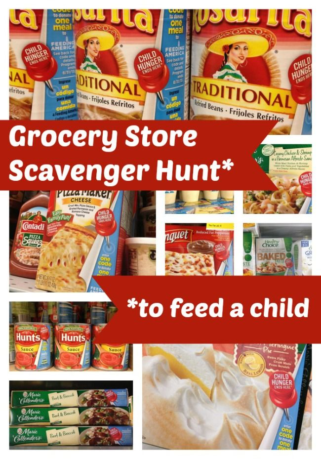 126 best food drive images on pinterest food bank food drive and grocery store scavenger hunt to get kids involved in helping feed hungry kids in their neighborhood forumfinder Choice Image