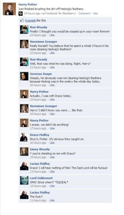 I love Voldemort at the end.