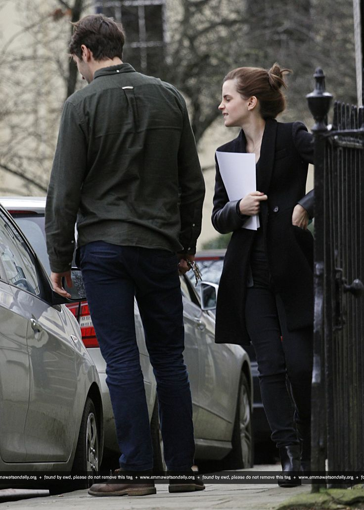 Emma Watson And Her New Boyfriend Matthew Janney Spotted Out In Central London Furniture Shopping On February, 23.