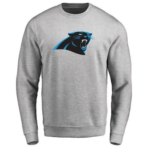 Men's Carolina Panthers Design Your Own Crewneck Sweatshirt