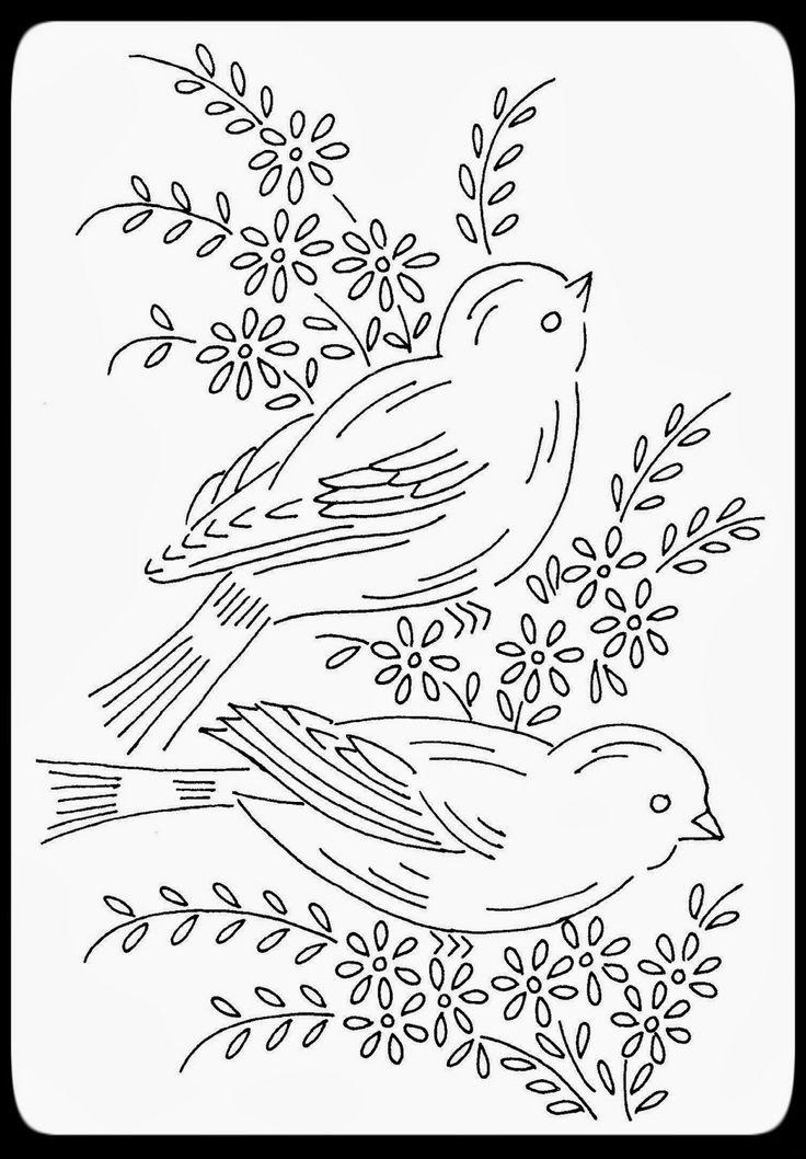 Hudson's Holidays - Designer Shirley Hudson: Spring birds