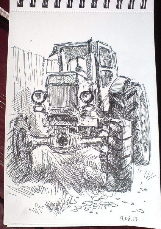 трактор рисунок - Поиск в Google