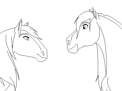 Spirit Animals Coloring Book Spirit horse coloring pages az
