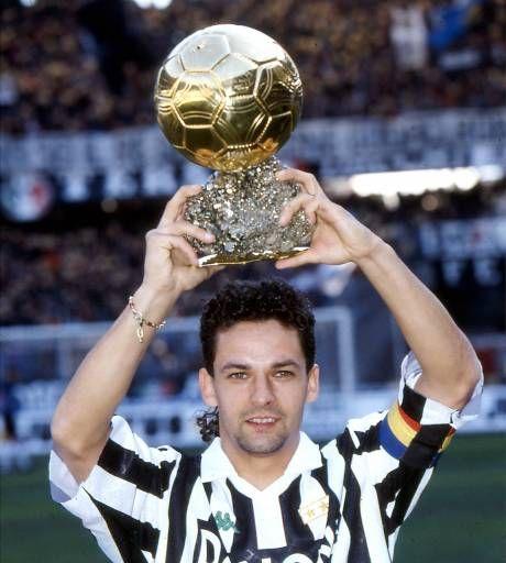 Roberto Baggio,(Italie) Ballon d'or 1993.(attaquant - Juventus)