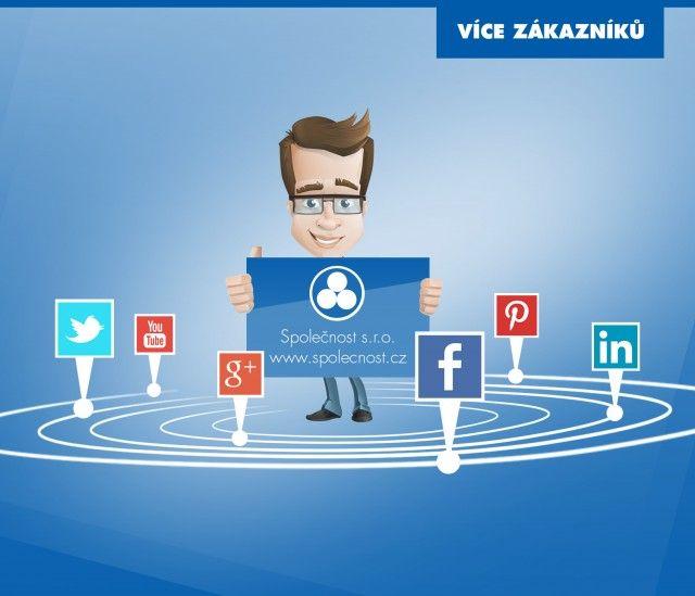 Důležitou součástí marketingové komunikace je dnes prezentace na sociálních sítích. Jde zde ale spíše o vytvoření sympatií uživatelů k Vaší značce, budování důvěry a komunikaci se stávajícími a potenciálními zákazníky. #vicezakazniku #mediatel #socialmedia