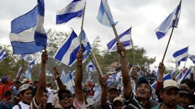 Nicaragua canal protest.  #Nicaragua #China