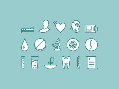Medical Icons by Igor Petrov