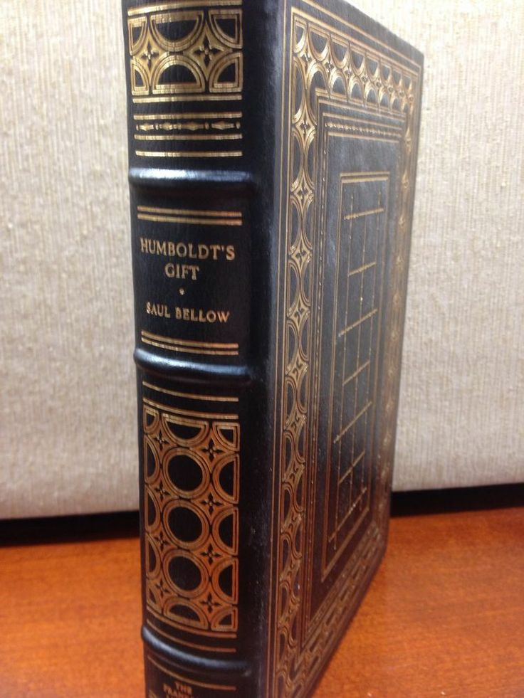 Humboldt's Gift Saul Bellows Franklin Library Full Leather 100 Greatest Books