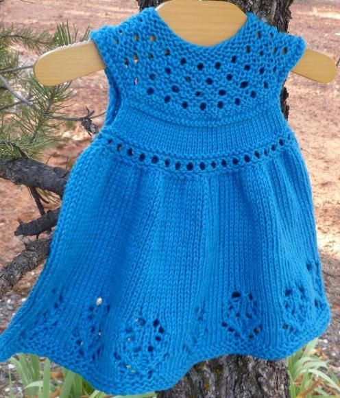 Taiga Hilliard Designs--Taiga Hilliard--Lilly Rose Baby Dress (birth - age 3)