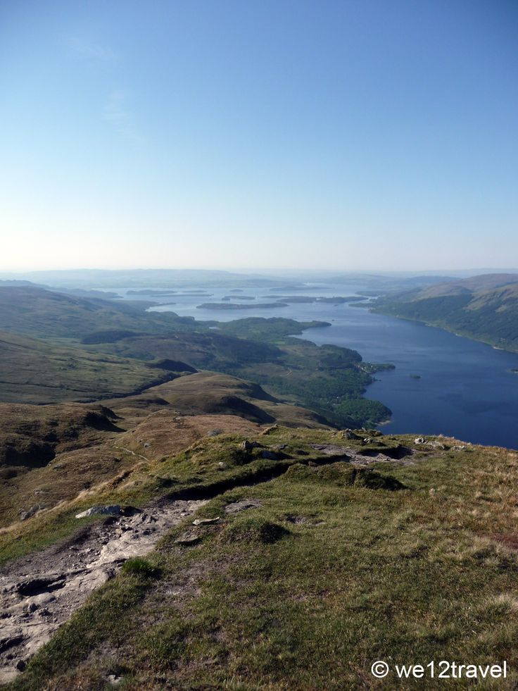 New on the blog: hiking up Ben Lomond in Scotland