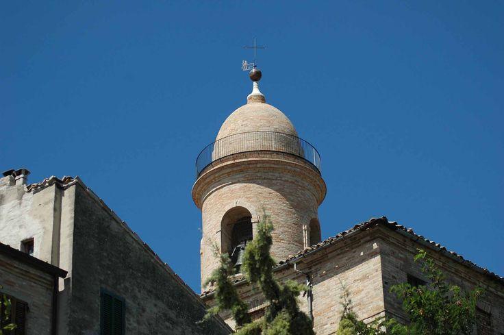 The bell tower, Petritoli