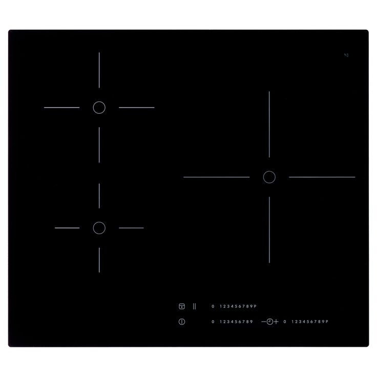 MÄSTERLIG Table cuisson induction/booster - IKEA 59x52 429_