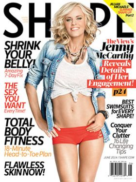 Step-By-Step: SHAPE Covergirl Jenny McCarthy Dishes Details Of Her Engagement TO NKOTB Singer Donnie Wahlberg | Radar Online