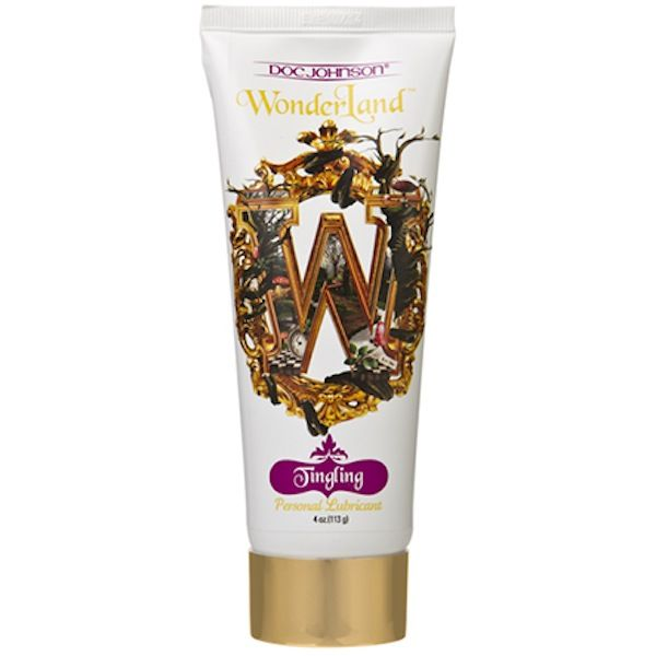 Wonderland Personal Lube – Tingling for Sale  Size: 115ml     The Wonderland Personal Lube - Tingling-Bulk is perfect for all occasion when you are searching for an all around lubricant  The water based formula is very slippery and will enhance all massages and love making with a wonder