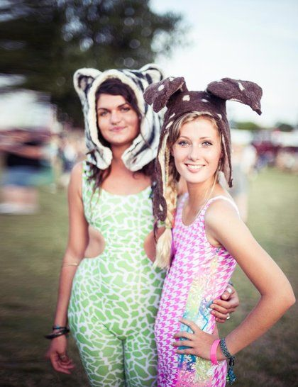 Obviously, this isn't for everyday, but it's still cool! Secret Garden Party Street Style 2013 | ELLE UK