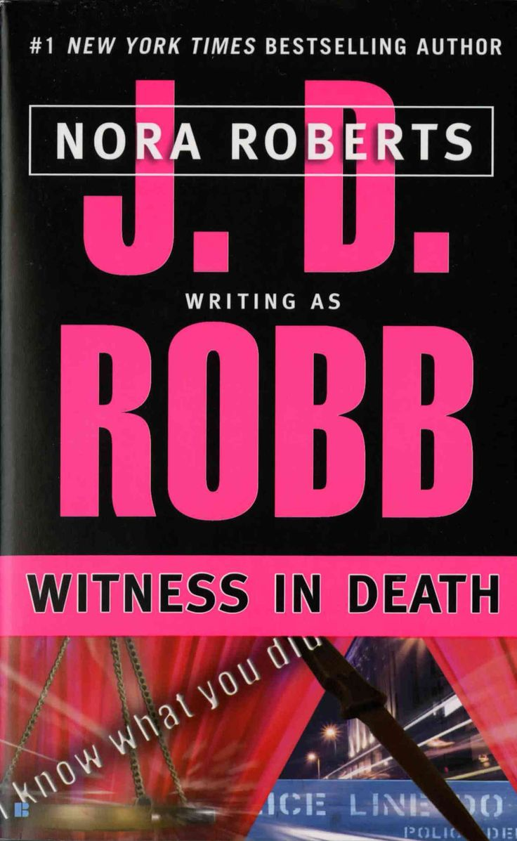 Writing As Jd Robb, Nora Roberts Presents The Tenth Book In The New York  Times