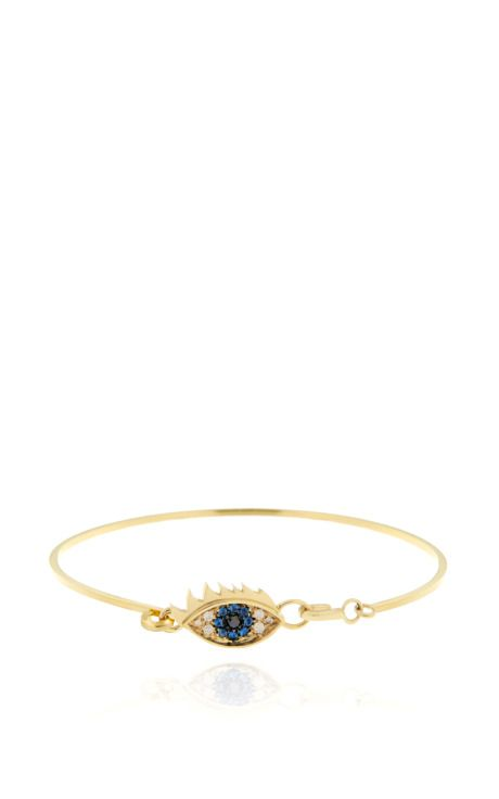 Shop Grandma Eye Bracelet by Delfina Delettrez for Preorder on Moda Operandi
