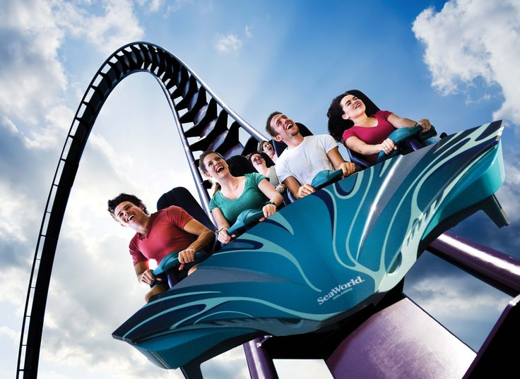 Mako - Orlando's fastest, tallest, longest AND only hypercoaster.