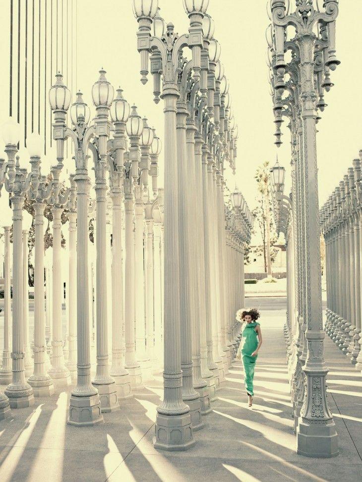 Karlie Kloss for Vogue Spain February 2013 by Alexi Lubomirski
