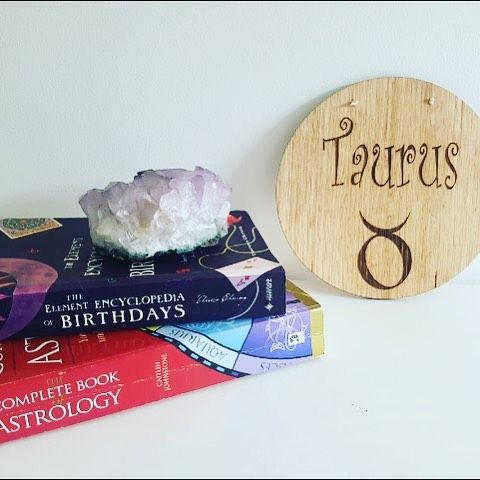 For the Venus ruled Taurus All star sign plaques available on the Etsy store... Link in bio..    Custom designed starsign timber plaque. Laser etched. Perfect little gift for birthdays, baby shower, christening, baptism, name day or just because :)