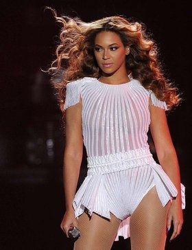 Beyoncé looks stunning on stage for the Mrs Carter Show World Tour.