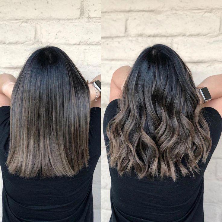 Ash brunette Toner @schwarzkopfcan @schwarzkopfpro @schwarzkopfusa 8-11 0-11 . . . . . . . #ShadesEQ #balayageombre #lahaircolorist… #darkbrownhair