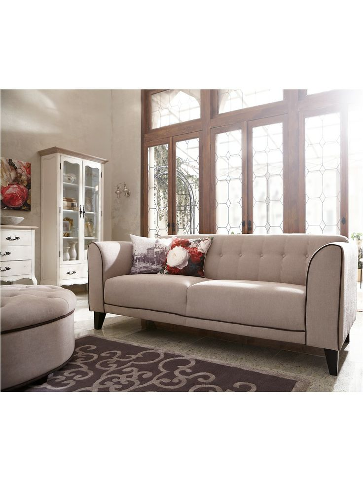 Laurence Llewelyn Bowen Portigo 3 Seater Sofa Sofas