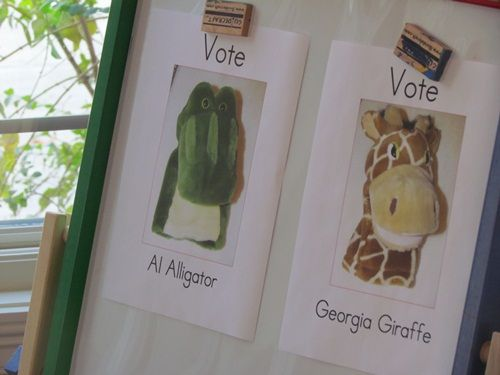"""We Can Vote"" Election Day Activities"