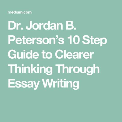 How to be a good student essay
