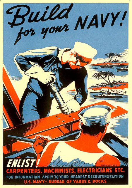 ... bureau of yards and docks! by x-ray delta one, via Flickr