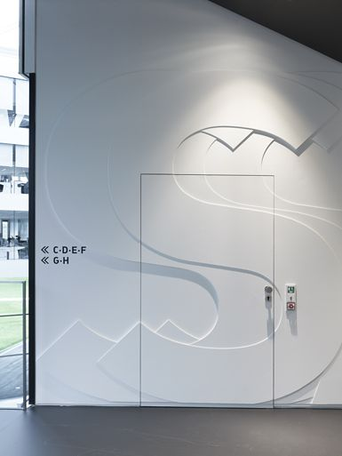 adidas laces signage by büro uebele