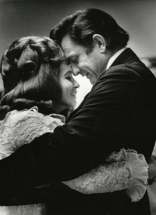 June Carter and Johnny Cash. Love is a burnin' thing