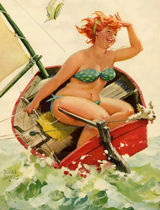hilda pin-up by duane bryers
