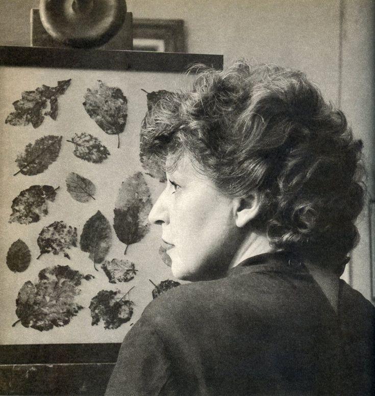 The Czech female artist Ludmila Jirincová (1907-1985), student of Professor Tavik František Šimon
