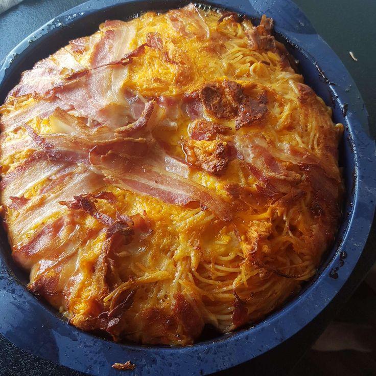 Jeg har før lavet denne ret med kartofler nogle gange - men med inspiration fra en facebookgruppe har jeg lavet denne opskrift på 'baconbombe'...