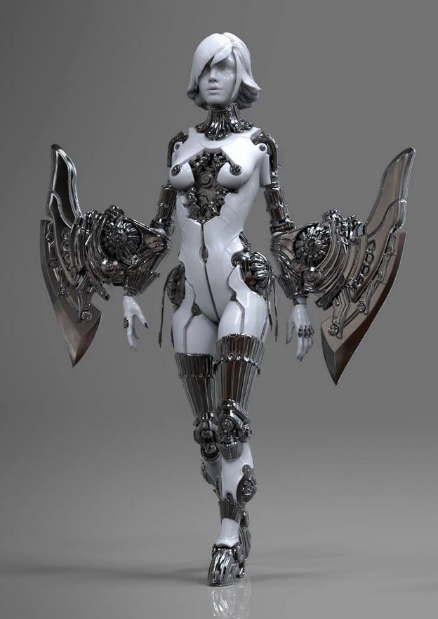 Character design by Marco-Yolo Plouffe.More robots here.