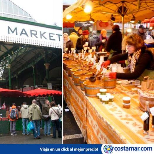 El Borough Market es el mercado más emblemático y antiguo de Londres. Foto: Mack Male/ Flickr