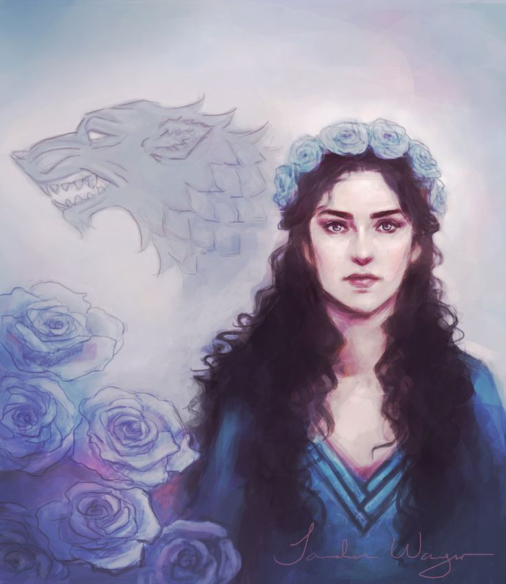 Lyanna Stark by ImperfectSoul, via deviantart