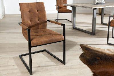 Luxusný nábytok REACTION: Stolička OXFORD BROWN.
