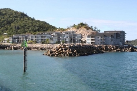 Ocean view penthouse for sale at Bright Point, Magnetic Island, Queensland, Australia.