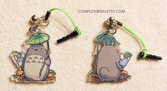 Charme de Totoro réversible