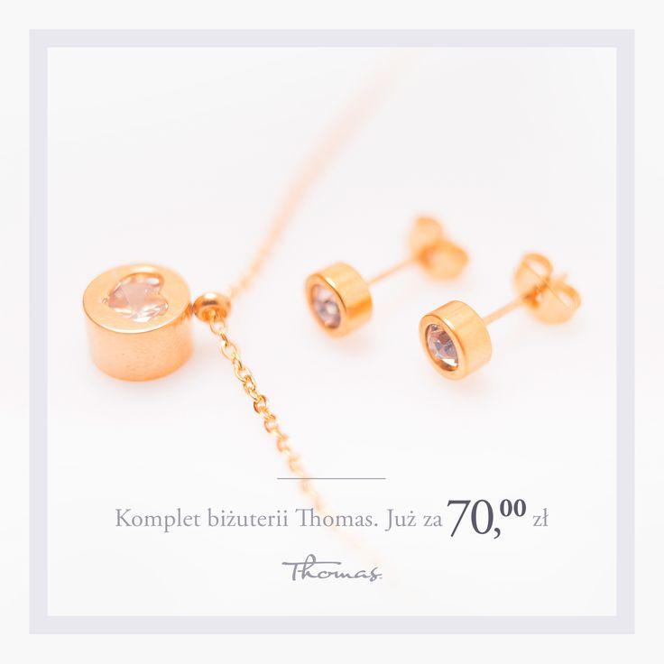 ethomas.pl Piękny komplet biżuterii <3 #jewellery #biżuteria #bizuteria #kobieta #uroda